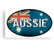 Aussie Canvas Print