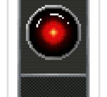 Pixel Hal 9000 Sticker