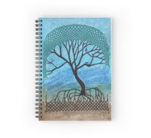 Mangrove Tree of Life Spiral Notebook