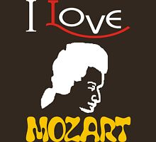 i love mozart Womens Fitted T-Shirt