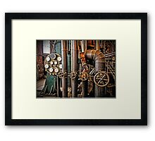 The Old Pumping Station - Steam Engine Framed Print