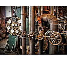 The Old Pumping Station - Steam Engine Photographic Print