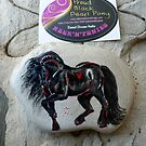 Rock'N'Ponies - PROUD BLACK PEARL PONY by louisegreen