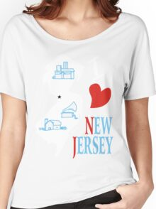 i love new jersey Women's Relaxed Fit T-Shirt