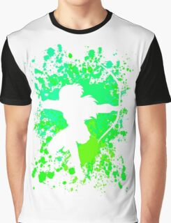 inuyasha kagome paint splatter anime manga shirt Graphic T-Shirt