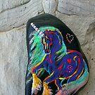 Rock 'N' Ponies - WINDSWEPT PONY by louisegreen