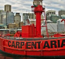Carpentaria - Light Ship CLS4 in Retirement Sticker