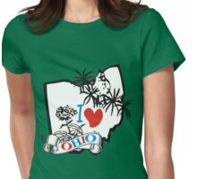 i love ohio Womens Fitted T-Shirt
