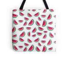Raining Watermelons Tote Bag