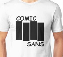 Black Flag Comic Sans Unisex T-Shirt