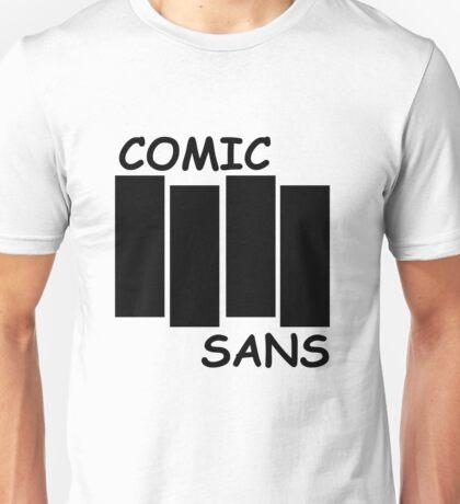 Black Flag Comic Sans Unisex T-Shirt