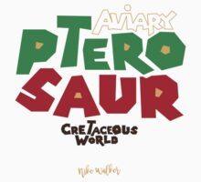 Cretaceous World - Aviary Kids Tee