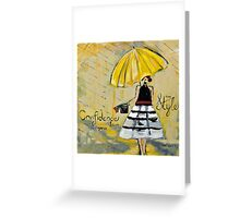 The Road Travelled Greeting Card