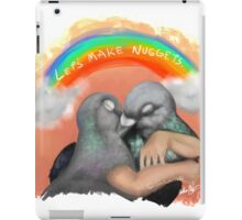 """Nugs not drugs"" iPad Case/Skin"