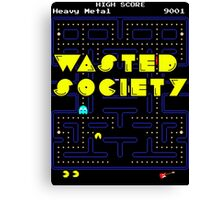 Wasted Games Canvas Print