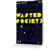Wasted Games Greeting Card