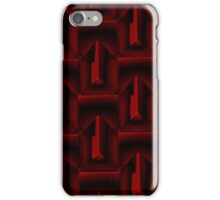 """Red Steel"" by Carter L. Shepard""  iPhone Case/Skin"