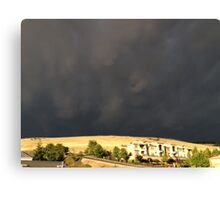 Smoke From The Butte Fire Canvas Print
