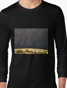 Smoke From The Butte Fire Long Sleeve T-Shirt