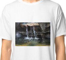"""""""Isaiah 12:3"""" by Carter L. Shepard""""  Classic T-Shirt"""