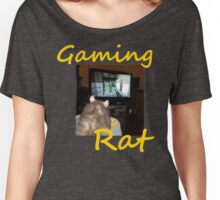 gaming rat Women's Relaxed Fit T-Shirt
