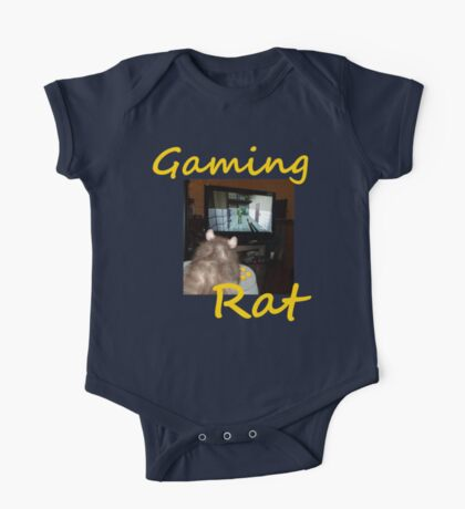 gaming rat One Piece - Short Sleeve