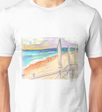 Carcavelos beach. Lisbon. Portugal Unisex T-Shirt