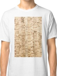 Cork oak pattern Classic T-Shirt