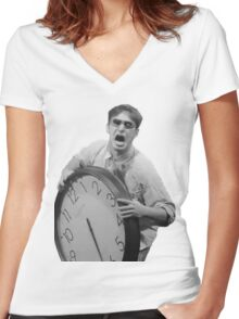 Filthy Frank Shirt Women's Fitted V-Neck T-Shirt