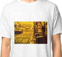 Bus lane on Johnson Street Classic T-Shirt