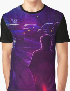 Pedestrians on Johnson Street Graphic T-Shirt