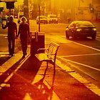 Couple on Johnson Street by John Violet
