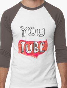 YouTube Men's Baseball ¾ T-Shirt