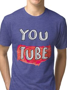 YouTube Tri-blend T-Shirt