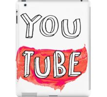 YouTube iPad Case/Skin