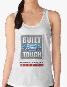 Built Ford Tough PowerStroke Diesel Women's Tank Top
