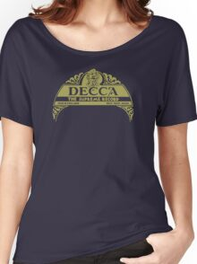 Decca Label 1929 Women's Relaxed Fit T-Shirt