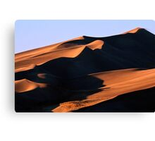 Dune Shadows Canvas Print