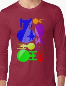 USS Enterprise Mosaic Long Sleeve T-Shirt