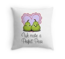 We make a Perfect Pear Throw Pillow