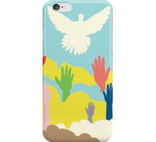 Dove and Hands iPhone Case/Skin