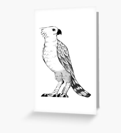 Crowned Eagle Greeting Card