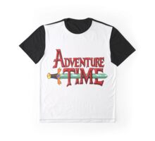 Classic Adventure Time Graphic T-Shirt
