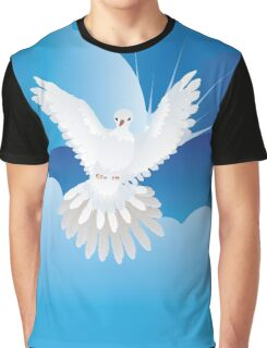 Dove in the Sky Graphic T-Shirt