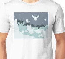 Pigeon in the Clouds Unisex T-Shirt