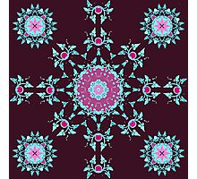 red berry pattern Photographic Print
