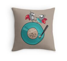 Rock'n'roll ladybirds Throw Pillow