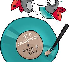 Rock'n'roll ladybirds by solarlullaby