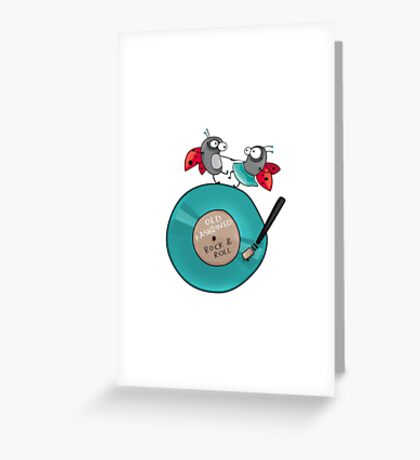 Rock'n'roll ladybirds Greeting Card