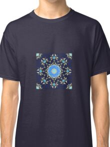 Golden and blue pattern Classic T-Shirt